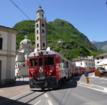イタリア~スイスの鉄道旅行|人...