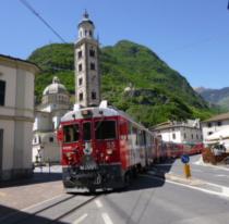 クール~ティラーノの鉄道旅行 ...